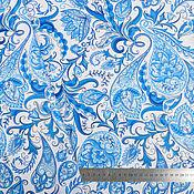 Материалы для творчества handmade. Livemaster - original item Paisley Pattern fabric, Turkish cucumber fabric, cucumber fabric. Handmade.