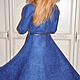 """Платья ручной работы. Валяное платье для """"АннА"""" Стиль Нью Лук - стиль истинных женщ. Виктория 'Студия войлока МаЖоРиК'. Ярмарка Мастеров."""