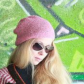 Аксессуары handmade. Livemaster - original item Thin hat with sequins,