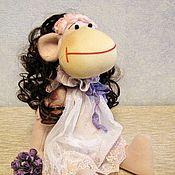 Куклы и игрушки ручной работы. Ярмарка Мастеров - ручная работа Обезьянка Стефани. Handmade.