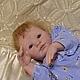 Куклы-младенцы и reborn ручной работы. Кукла реборн Саша. Дмитрий Залесский. Интернет-магазин Ярмарка Мастеров. Куклы реборн