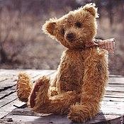 Куклы и игрушки ручной работы. Ярмарка Мастеров - ручная работа Старый медведь Платон. Handmade.