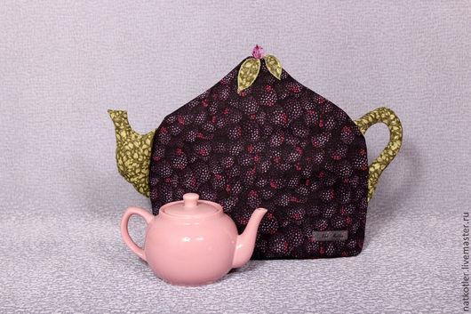 Кухня ручной работы. Ярмарка Мастеров - ручная работа. Купить Грелка для чайника ЕЖЕВИКА. Handmade. Грелка на чайник, текстиль для дома