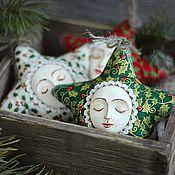 """Подарки к праздникам ручной работы. Ярмарка Мастеров - ручная работа Игрушка """"Звезда новогодняя большая"""". Handmade."""