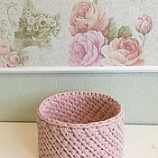 Для дома и интерьера handmade. Livemaster - original item Interior basket of Tenderness.. Handmade.