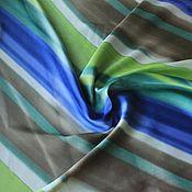 """Ткани ручной работы. Ярмарка Мастеров - ручная работа Ткань 11901 итальянский искусственный шелк """"весна"""". Handmade."""