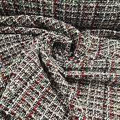 Материалы для творчества handmade. Livemaster - original item Fabric: Chanel tweed-combined 2. Handmade.