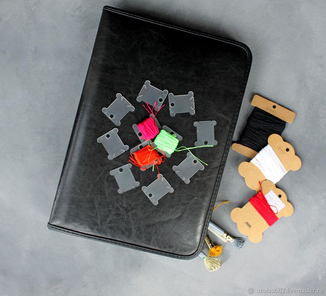 Папка-органайзер для вышивальщицы + Мулине DMC, Гамма, Органайзеры, Магнитогорск, Фото №1