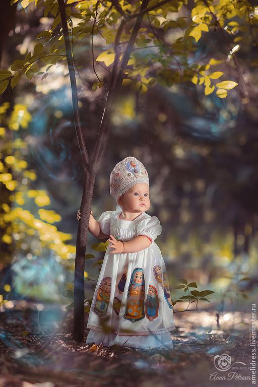 Одежда для девочек, ручной работы. Ярмарка Мастеров - ручная работа. Купить Кокошник. Handmade. Орнамент, матрешка, народный костюм, кокошник