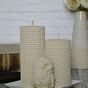 Свечи ручной работы. Ярмарка Мастеров - ручная работа Набор свечей. Handmade.