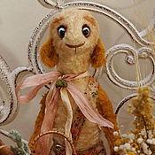 Куклы и игрушки ручной работы. Ярмарка Мастеров - ручная работа Барашек-тедди  Игнатушка. Handmade.