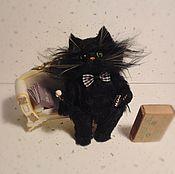 Куклы и игрушки ручной работы. Ярмарка Мастеров - ручная работа кот Бегемот №3. Handmade.
