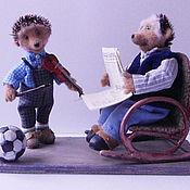 """Куклы и игрушки ручной работы. Ярмарка Мастеров - ручная работа Коллекционная игрушка """"Играй, Яша!"""". Handmade."""