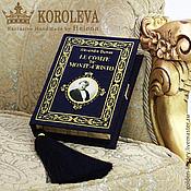 """Сумки и аксессуары handmade. Livemaster - original item Клатч-книга """"Граф Монте-Кристо"""". Handmade."""