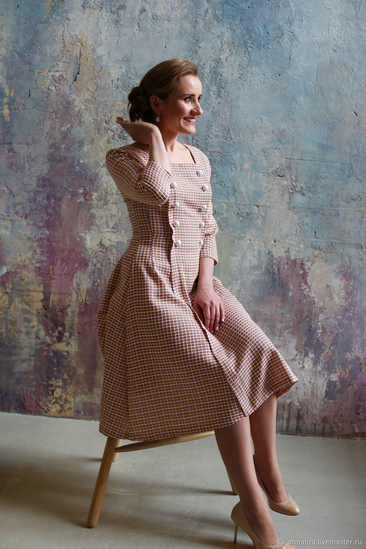 """Платье в ретро стиле """"Мадам Шанель"""" 2, Платья, Москва,  Фото №1"""