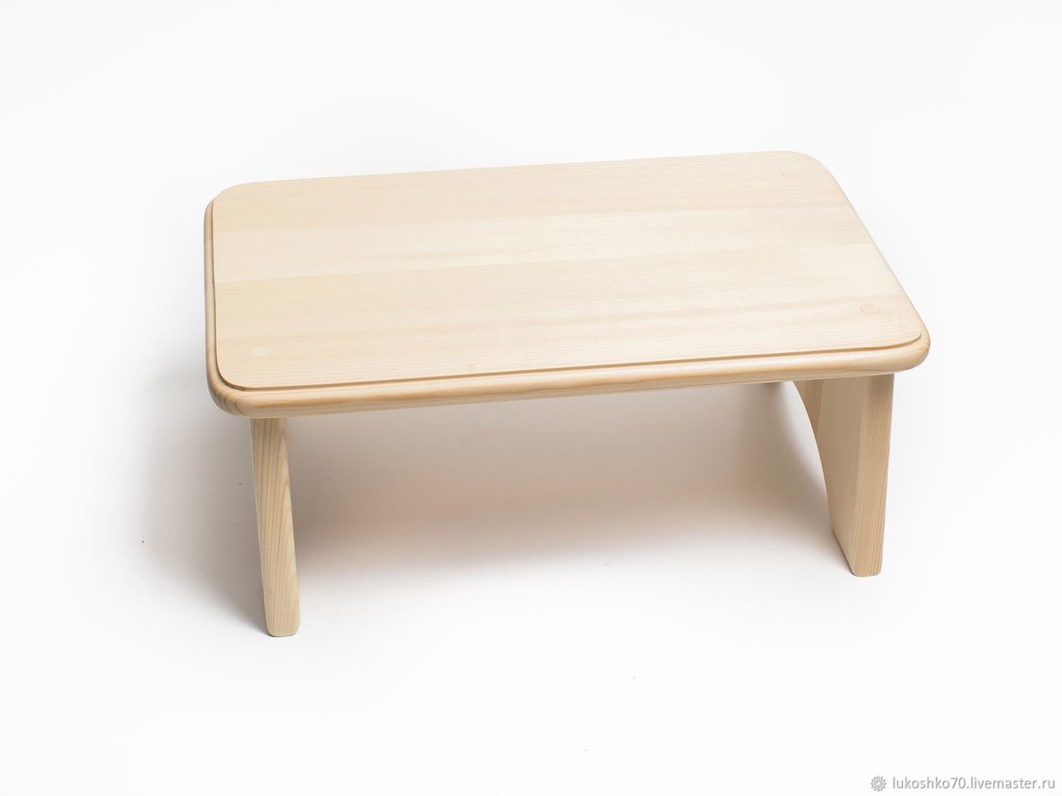 Wooden low bench for feet H16, Stools, Tomsk,  Фото №1