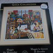 """Набор для вышивания крестом """"Мэгги Рукодельница"""" Золотая коллекция США"""