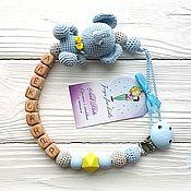 Работы для детей, handmade. Livemaster - original item Pacifier holder