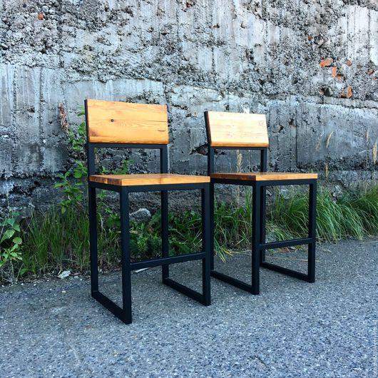Мебель ручной работы. Ярмарка Мастеров - ручная работа. Купить Барный стул WILD HOG.. Handmade. Бежевый, стул лофт