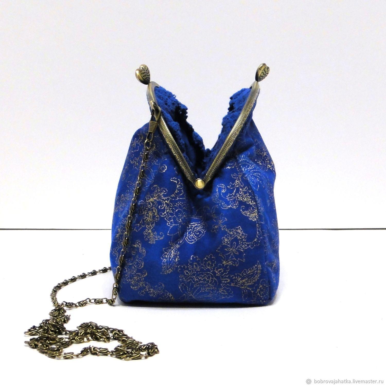31fbd119 Женские сумки ручной работы. Ярмарка Мастеров - ручная работа. Купить Синяя сумка  кошелек клатч ...