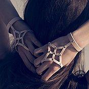 Аксессуары ручной работы. Ярмарка Мастеров - ручная работа Кожаная перчатка Stella. Handmade.