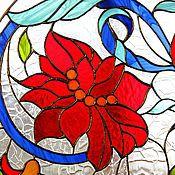 Для дома и интерьера ручной работы. Ярмарка Мастеров - ручная работа Райский сад II. Витраж Тиффани. Handmade.
