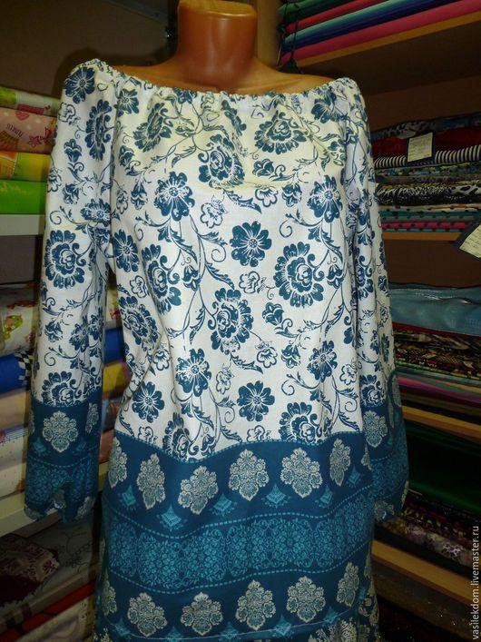 Магазин одежды в народном стиле, купить блузку хлопковую, натуральная ткань.
