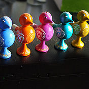 Музыкальные инструменты ручной работы. Ярмарка Мастеров - ручная работа Птички - свистульки. Handmade.