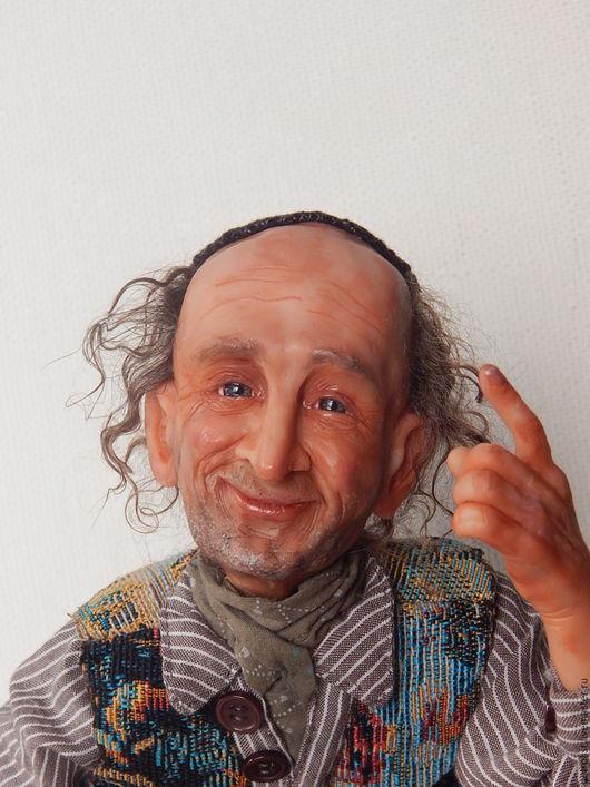 Коллекционные куклы ручной работы. Ярмарка Мастеров - ручная работа. Купить Еврейский дедушка  Таки ДА !!! по фото-персональный заказ. Handmade.