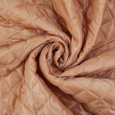 Materials for creativity handmade. Livemaster - original item Fabric: Italian ochre quilted batting. Handmade.