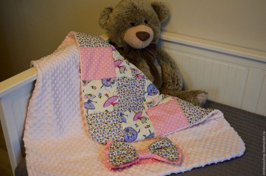 Для новорожденных, ручной работы. Ярмарка Мастеров - ручная работа. Купить Одеяло лоскутное для новорожденных  (конверт).. Handmade. Комбинированный