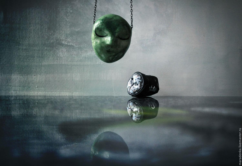 The inhabitants of the hills pendant.Unusual pendant.Decoration gift, Pendants, Moscow,  Фото №1