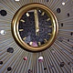 """Часы для дома ручной работы. Настенные часы """"Зазеркалье -90"""". VladiArt. Интернет-магазин Ярмарка Мастеров. Зеркало солнце"""