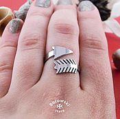 Rings handmade. Livemaster - original item Ring in the form of arrows. Handmade.