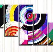 Картины и панно handmade. Livemaster - original item Modular abstraction. Handmade.