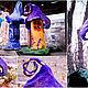 Освещение ручной работы. Войлочный ночник Домик для гномика. Татьяна Воронина (tatyanavoronina). Ярмарка Мастеров. Войлочная игрушка, светильник