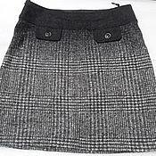 Винтаж handmade. Livemaster - original item Lined skirt from Virginia wool,vintage Latvia. Handmade.