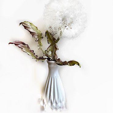 Flowers and floristry handmade. Livemaster - original item Dandelion silk for the interior. Handmade.