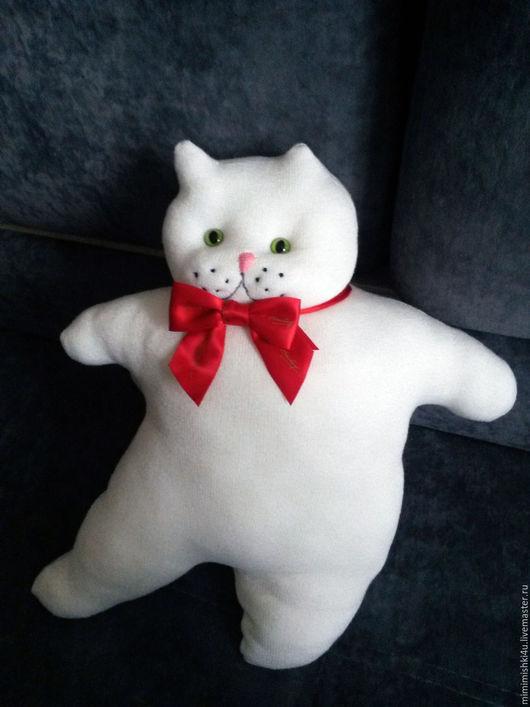 Игрушки животные, ручной работы. Ярмарка Мастеров - ручная работа. Купить Игрушка-подушка кот Бейлис. Handmade. Кот