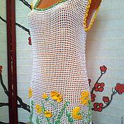 Одежда handmade. Livemaster - original item Beach tunic Summer. Handmade.