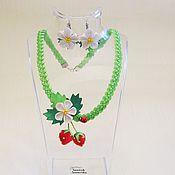 Работы для детей, handmade. Livemaster - original item Jewelry set
