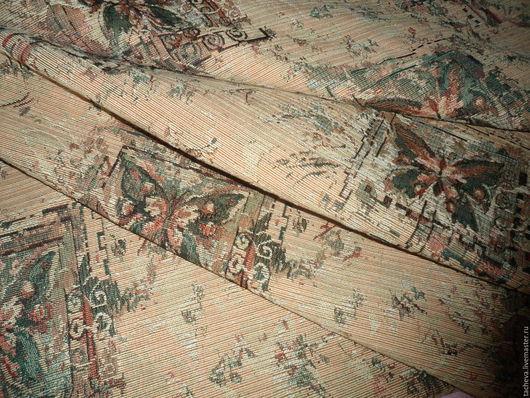 Шитье ручной работы. Ярмарка Мастеров - ручная работа. Купить Ткань гобеленовая-бабочки. Handmade. Комбинированный, мебельная ткань