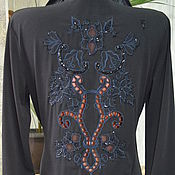 """Одежда handmade. Livemaster - original item Блузка вышитая """"Комплимент"""". Handmade."""