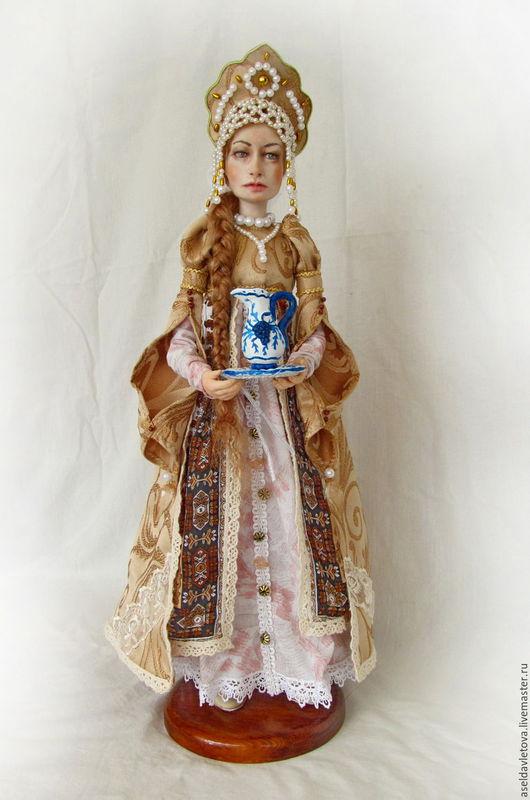 Народные куклы ручной работы. Ярмарка Мастеров - ручная работа. Купить Варвара. Handmade. Золотой, подарок на любой случай