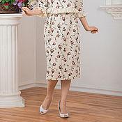 """Одежда ручной работы. Ярмарка Мастеров - ручная работа Юбка """"Розы"""". Handmade."""