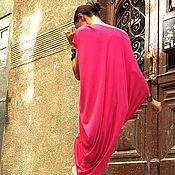 Одежда ручной работы. Ярмарка Мастеров - ручная работа Платье летнее  Fuchsia. Handmade.