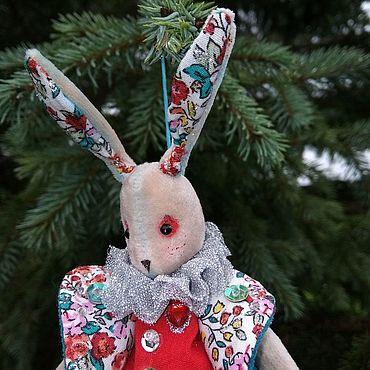 Куклы и игрушки ручной работы. Ярмарка Мастеров - ручная работа Новогодний кроль. Handmade.