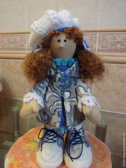 Куклы Тильды ручной работы. Ярмарка Мастеров - ручная работа. Купить Куколка тильда - большеножка. Handmade. Бежевый, трикотаж, флис