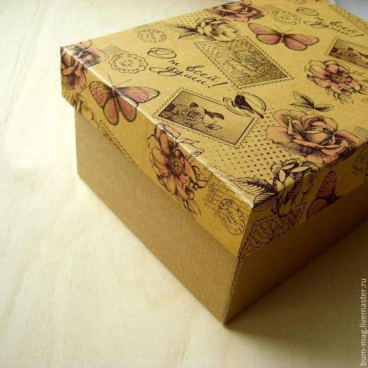 Подарочная упаковка ручной работы. Ярмарка Мастеров - ручная работа. Купить Коробка подарочная НА ЗАКАЗ. Handmade. Упаковка