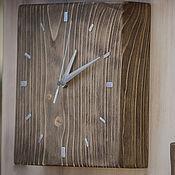 Для дома и интерьера ручной работы. Ярмарка Мастеров - ручная работа Часы настенные из массива сосны. Handmade.